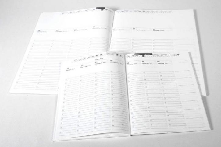 ROTERFADEN - Jahreskalender 2021, A4 (Layout 2)