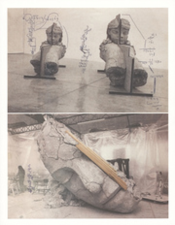 Mark Manders - Shadow Studies