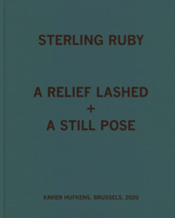 Sterling Ruby - A relief lashed