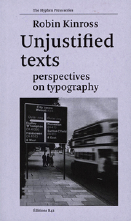 Unjustified texts - Perspectives on Typography
