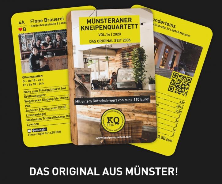 Münsteraner Kneipenquartett 2020