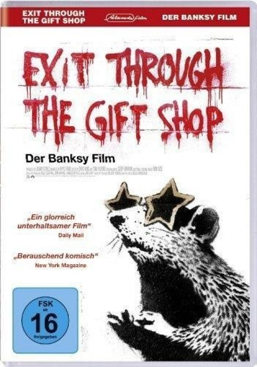 Banksy - Exit through the gift shop (DVD)
