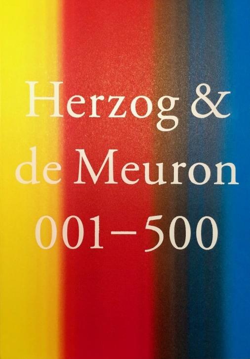 Herzog & de Meuron 001 - 500 (Softcover Editon)