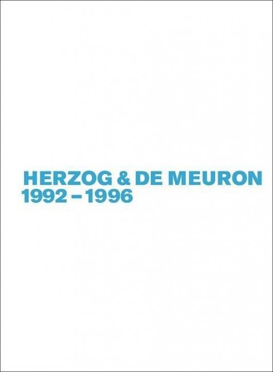 Herzog & de Meuron 1992-1996 (Band 3)