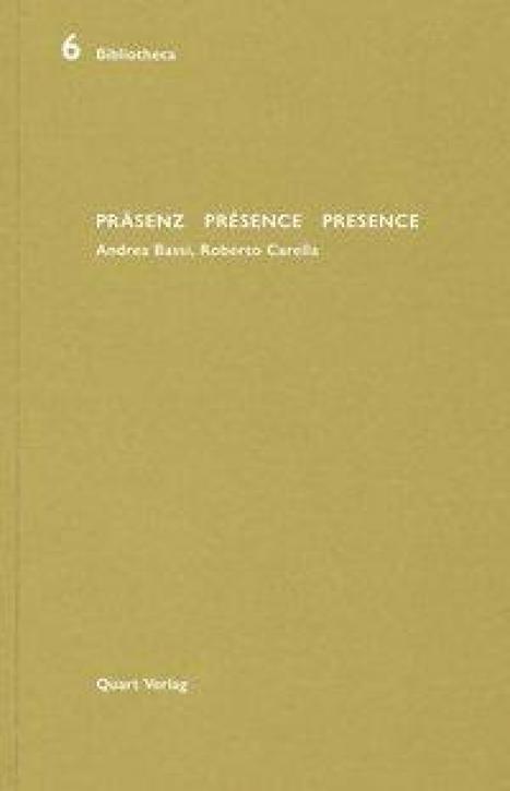 Präsenz - Présence - Presence