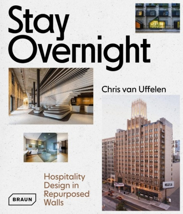 Stay Overnight - Hospitality Design in Repurposed Walls