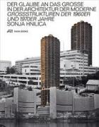Der Glaube an das Grosse in der Architektur der Moderne