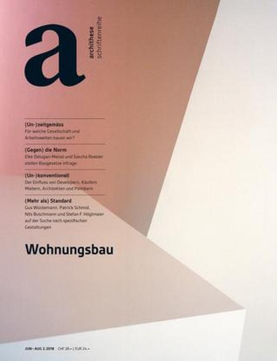 Wohnungsbau (archithese 2.2018)