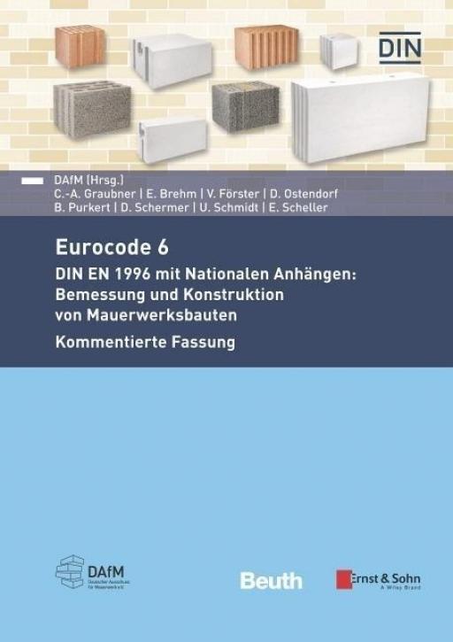 Eurocode 6 - DIN EN 1996 mit Nationalen Anhängen