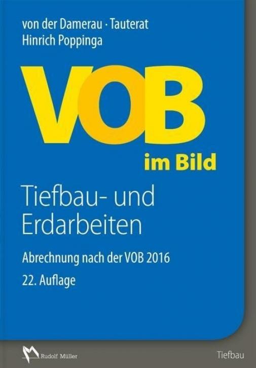 VOB im Bild - Tiefbau- und Erdarbeiten (22. Auflage)