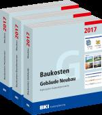 BKI Baukosten 2017 Teil 1+2+3 Gebäude Neubau, Bauelemente Neubau, Positionen Neubau
