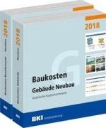 BKI Baukosten 2018 Neubau Teil 1+2: Gebäude + Bauelemente