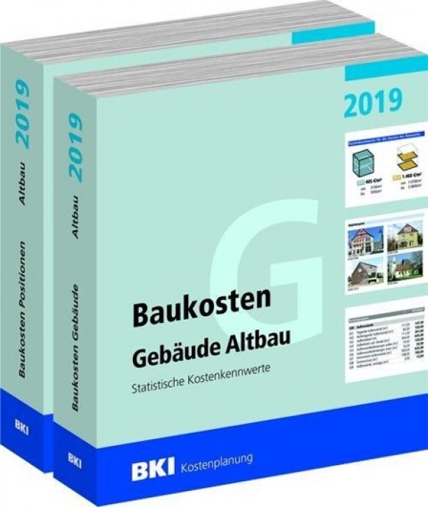 BKI Baukosten Altbau 2019 Teil 1+2 Gebäude + Positionen