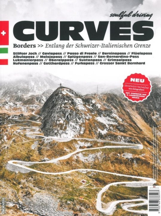 CURVES 02 - Borders: Entlang der Schweizer - Italienischen Grenze