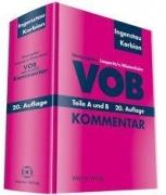 VOB Teile A und B -  Kommentar (20. Auflage)