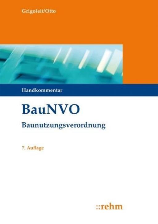 BauNVO - Baunutzungsverordnung (Handkommentar)