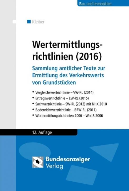 Wertermittlungsrichtlinien (2016)