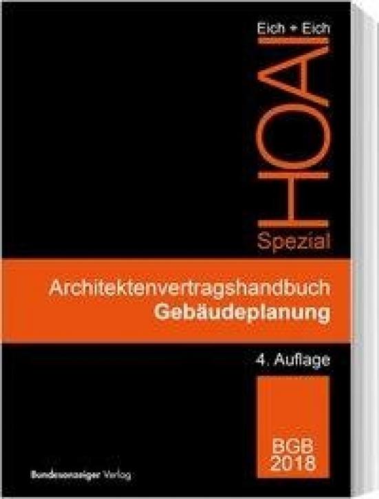 HOAI Spezial - Architektenvertragshandbuch Gebäudeplanung
