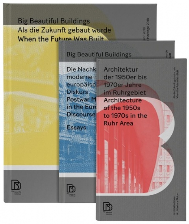 Big Beautiful Buildings: Bildband - Essays - Architekturführer (3 Bände)