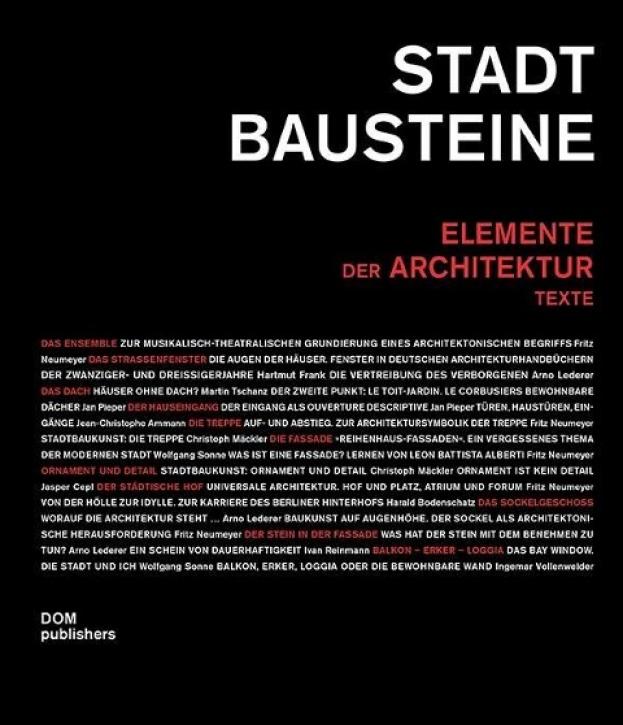 Stadtbausteine - Elemente der Architektur (Texte)