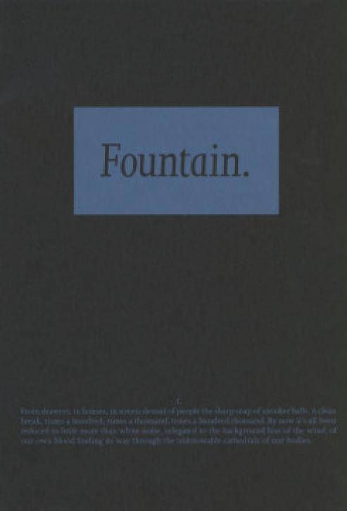 Fountain - Vanessa Billy & Thogdin Ripley