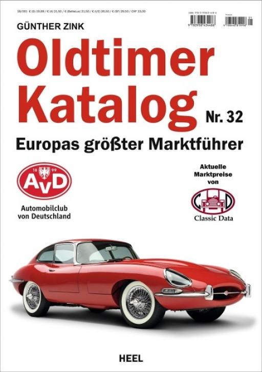 Oldtimer Katalog Nr. 32 - Europas größter Marktführer