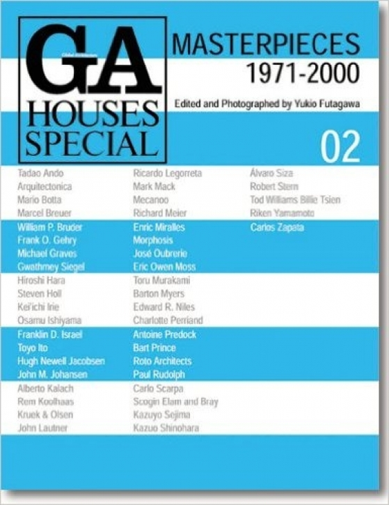 GA Houses Special 2 - Masterpieces 1971-2000