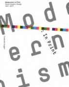Modernism: In Print Dutch Graphic Design 1917-2017