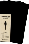 Fashionary Mini Sketchbook Mens