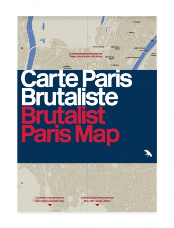 Brutalist Paris Map: Guide to Brutalist Architecture in and near Paris