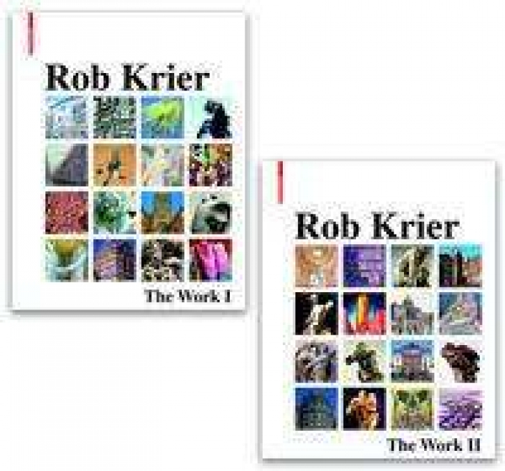 Rob Krier - The Work Architecture, Urban Design, Drawings, and Sculptures (2 Volumes)