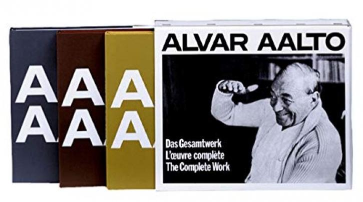 Alvar Aalto - Das Gesamtwerk 1922-1976  (Bände 1-3)