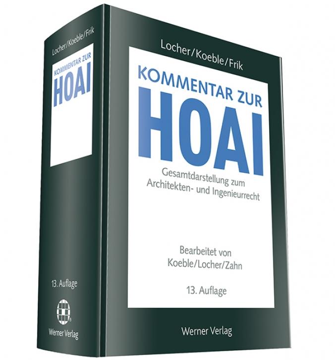 Kommentar zur HOAI (13. Auflage)