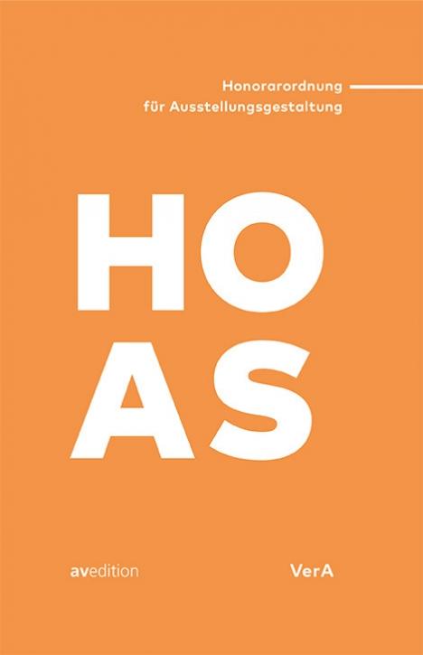 HOAS- Honorarordnung für Ausstellungsgestaltung