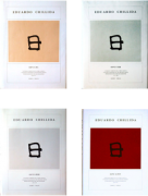 Eduardo Chillida - Opus 1959-2001, Complete Edition (4 Vol.): Werkverzeichnis der Druckgraphik / Catalogue Raisonne of the Original Prints / Catàlogo completo de la obra gráfica