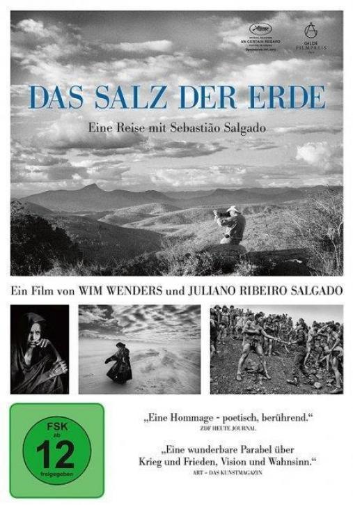 Das Salz der Erde - Eine Reise mit Sebastiao Salgado (DVD)