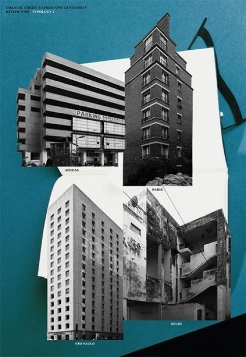 Typology 2 - Paris, Delhi, São Paulo, Athens