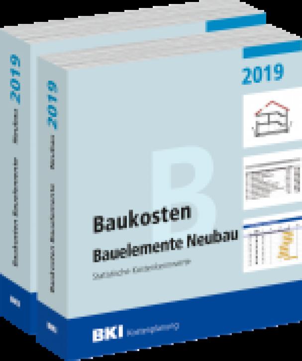 BKI Baukosten 2019 Neubau Teil 1+2: Gebäude, Bauelemente