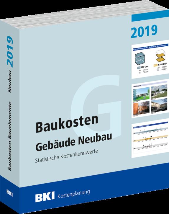 BKI Baukosten 2019 Neubau Teil 1: Gebäude