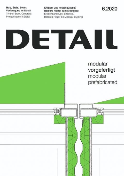 Modular vorgefertigt (Detail 6.2020)