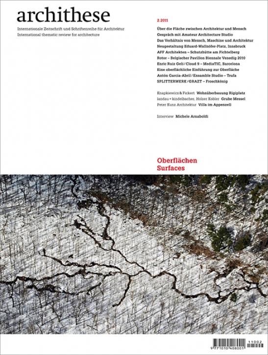 Oberfläche Archithese (2.2011)