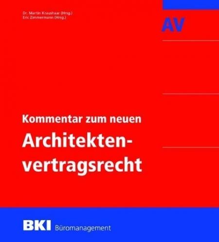 Kommentar zum neuen Architektenvertragsrecht