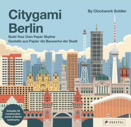 Citygami Berlin - Gestalte aus Papier die Bauwerke der Stadt