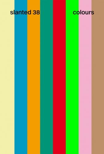 NEUE AUSGABE! Slanted #38 - Colours