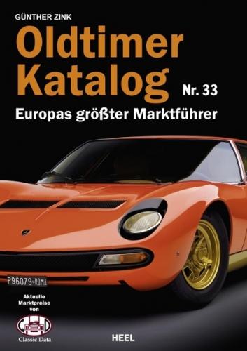 Oldtimer Katalog Nr. 33 - Europas größter Marktführer