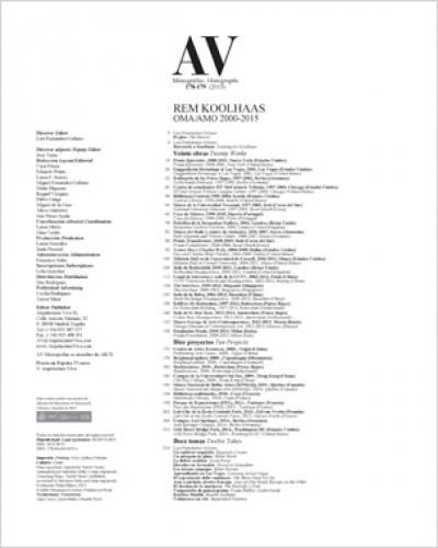 Koolhaas OMA/AMO 2000-2015 (AV 178-179)